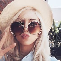 2016 Vintage Round Big Oversized lens Mirror Brand Designer Pink Sunglasses Lady Cool Retro UV400 Women Sun Glasses Female