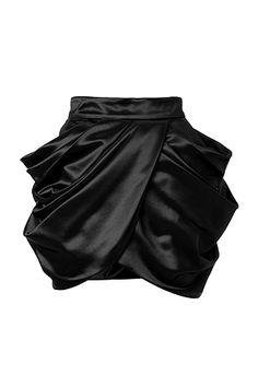 Balmain Draped Slide Skirt