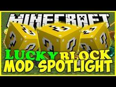 Lucky Block Mod 1.8/1.7.10/1.7.2 | Minecraft Mods | Minecraft 1.8.7, 1.8, 1.7.10