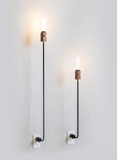 felt mark's wald lamp is a simple, holistic sum of individual parts, designed by LA studio, felt mark