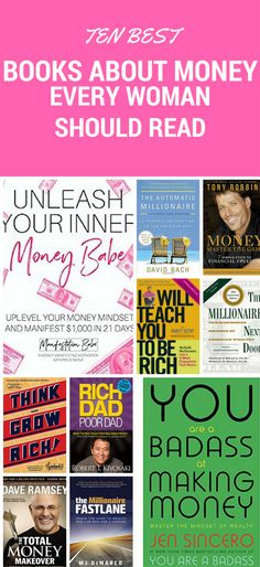 Educating yourself about finance is the only way you will ever get out of debt and get rich. These books to read about money are fun as well as eye-opening!!