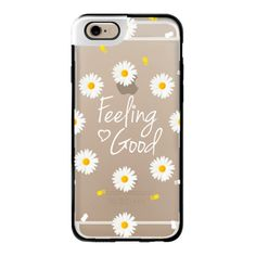 iPhone 6 Plus/6/5/5s/5c Metaluxe Case - Girly daisy flowers feeling... (€44) ❤ liked on Polyvore featuring accessories, tech accessories, phone cases, phone, cases, technology, iphone case, flower iphone case, apple iphone cases and iphone cases
