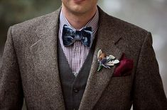 woodland wedding groom style] - Google Search