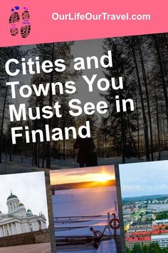 Check out the best places to see in Finland. Finland travel destination and best Finnish cities. Best Cities in Finland. What to see in Finland & what to do in Finland guide and travel tips. #finland #travel #lapland #cities Cities In Finland, Finland Travel, Norway Travel, Canada Travel, Us Travel, Travel Tips, Best Places In Europe, Best Cities, Places Around The World