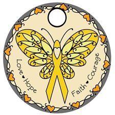 Cancer Awareness (Childhood Cancer) Pathtag Geocoin Alternative