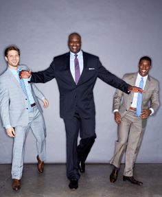 Here's one of our favorite big & tall celebrities - the amazing Shaquille O'neal!