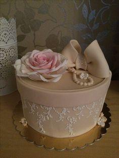 Cake box fondan