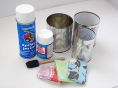 Ave 21 Marketplace: Easy Upcycled Cans Craft of The Day by Ave 21 Mark...