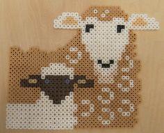 Perler Beads sheep