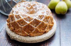 Receta de Bundt Cake de pera, sencilla y paso a paso en lecuiners http://www.lecuine.com/blog/bundt-cake-pera/