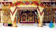 Desi Wedding Decor, Wedding Hall Decorations, Marriage Decoration, Wedding Mandap, Backdrop Decorations, Flower Decorations, Wedding Backdrops, Backdrop Ideas, Wedding Venues