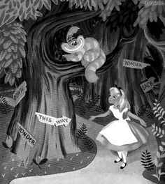 gif trippy tree disney Alice In Wonderland alice colorful Cheshire Cat Film Disney, Disney Art, Disney Pixar, Disney Characters, Alice Disney, Lewis Carroll, Disney Love, Disney Magic, Trippy Gif