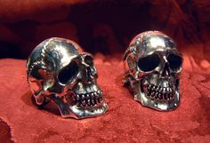 BARDO skull ring in white gold 18kt - Dogale Jewellery Venice Italia