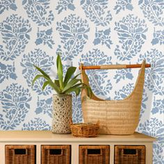 Indian Print Wall Stencil for walls