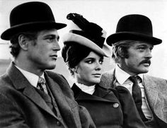 paul newman, katharine ross, and robert redford • butch cassidy and the sundance kid
