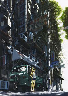 Anime / Manga Summer Background