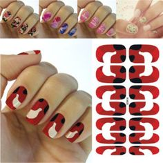 50 Best Water Transfer Nail Art Stickers Decals Images On