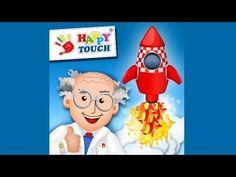 Raketen bauen und fliegen - Kinderspiel App mit Foto-Funktion für iPad und iPhone