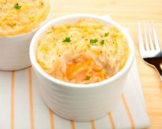 Parmentier de saumon (facile, rapide) - Une recette CuisineAZ