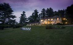 The Manor on Golden Pond (31 Manor Drive) Set on over 13 acres of lush forests, moments from Squam Lake, this English-style bed and breakfast offers luxurious accommodations, on-site spa treatments and easy access to attractions and activities. #bestworldhotels #hotel #hotels #travel #us #newhampshire