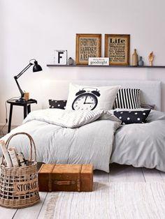 Gemütliche Bettwäsche sorgt für einen erholsamen Schlaf, doch natürlich darf die…