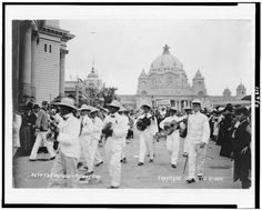 The parade - Midway Day - Pan American Exposition, Buffalo, NY, 1901