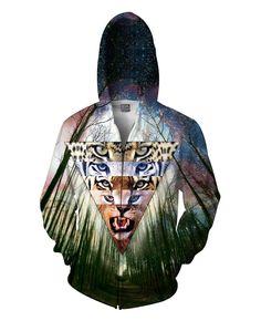 Wild Cats Zip-Up Hoodie