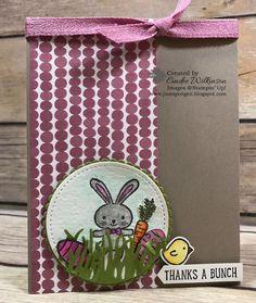 Just Sponge It: Basket Bunch Thank You Card, Luv2Stamp Blog Hop, Basket Bunch, Succulent Garden Designer Series Paper, cardstock & Ribbon, Watercolor Paper & Pencils, Stitched Shapes Framelits, Layering Circles, Big Shot,DIY, Easter, Thank you, Stampin' Up!