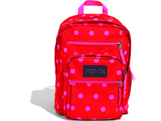 Your kiddo will stand out from the pack in coral polka dots. #SchoolSupplies