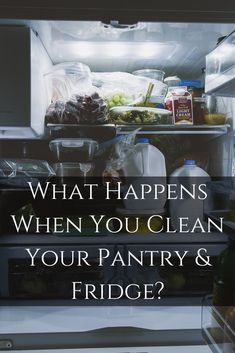 {Article} When you clean your pantry and fridge, a whole new world opens up to you and your health. What's lurking in your pantry and fridge? You'd be surprised at what appears healthy, yet really isn't healthy for you. Skin Nutrition, A Whole New World, What Happens When You, Pantry, Cleaning, Shit Happens, Healthy, Pantry Room, Butler Pantry