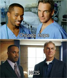 NCIS ❤ can't believe they worked together before
