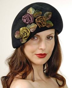 Louise Green Monet beret