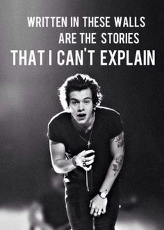 Story Of My Life; Harry Styles