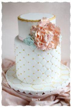 Wedding Cake  like the design not the flower