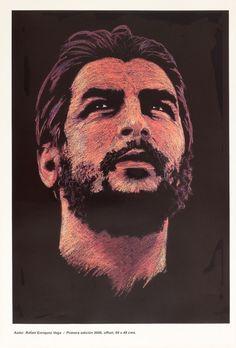 Che Guevara Cuban Poster by Rafael Enriquez | OSPAAAL