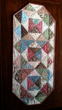 Waffle Time II Quilted Table Runner by ChesterCountyQuiltng ... : chester county quilting - Adamdwight.com