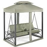 Monterey Collection Day Bed and Swing with Netting, Green   Canadian Tire