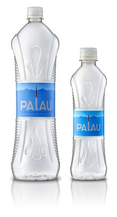 Love the tapered bottle shape. Looks tall and clean IMPDO. Water Packaging, Beverage Packaging, Bottle Packaging, Bottle Mockup, Plastic Bottle Design, Water Bottle Design, Best Water Bottle, Bottled Water, Agua Mineral