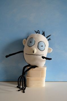 Love this idea!!!  Dolls made from you kids drawings  Walker's softie by Child's Own Studio, via Flickr