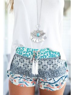 8e844f45c821 Summer outfit - cutest shorts ever!!! Totally the outfit to wear to a