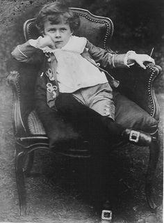 Young Aldous Huxley [1894-1963]