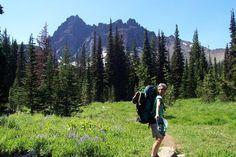 Backpacking Near 3-Fingered Jack, Oregon —REI 1440 Project