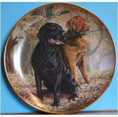 Lifelong Companions Labrador Plate by Franklin Mint Painted by Nigel Hemmings on eBid United Kingdom £15.00
