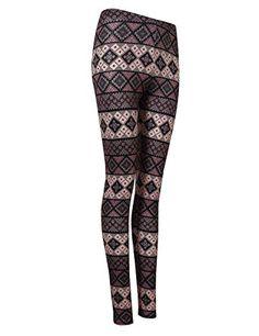 0fc7101d1ff YesFashion Women Autumn Geometry Printing Stripe Slim Leggings Newest   Amazon.ca  Sports   Outdoors