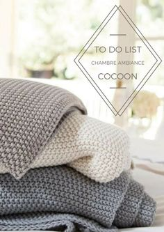To do list chambre ambiance cocoon - Soo Deco