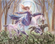 Nature Fairy  ~ Sara M Butcher Burrier