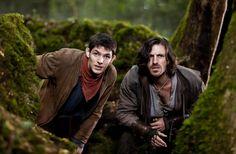 Merlin and Gwaine