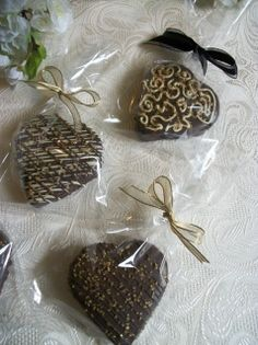Looking for a delicious and beautifully decorated favor ? these are spectacular for you wedding event or bridal shower. Hand made to order, and wrapped with your choice of ribbon. The sample image is one of many colors we can accommodate, if you have a theme party and need a color please e-mail us and let us know.   you choose how many you need and these are  hand baked and dipped in chocolate and delivered to your door !   We have shipped and delivered our favors to over 500 events and ...