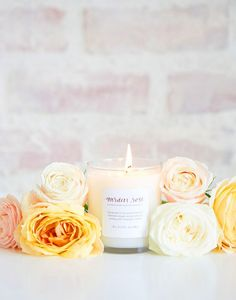 Lauren Conrad's New Candle Collection Smells Like Spring via @mydomaine