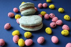 Oh my gosh, look at Charis's lovely vegan macarons!  via @floralfrosting